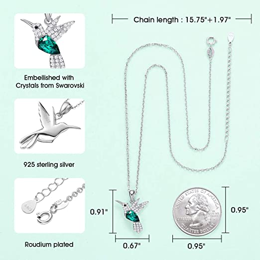 CDE  Hummingbird Necklaces Jewelry Stylish Style