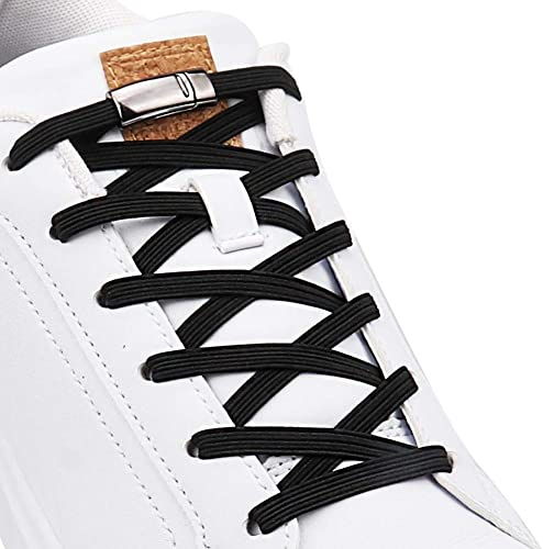 No Tie Elastic Shoelaces With Magnetic Shoe Laces Lock