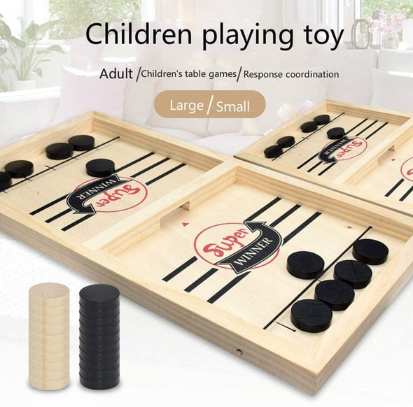 Sling Puck Game for Adults Parent-Child