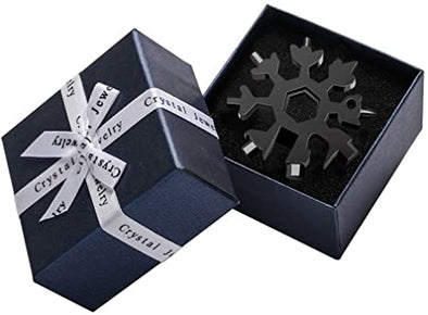 18 in 1 Snowflake Multi Tool with Gift Box Packing