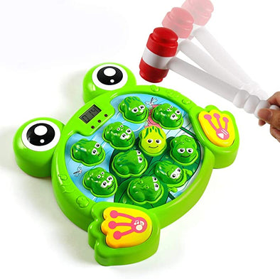 Whack A Frogs Game Hit Frog Toys