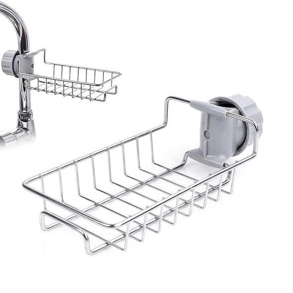 Stainless Steel Faucet Storage Rack Hanging