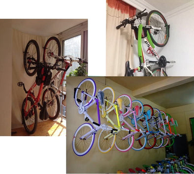 Heavy Duty Wall Mount Bike Hanger Storage System