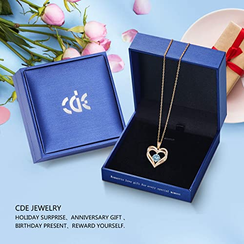 CDE Forever Love Heart Necklace Rose Gold | Mar