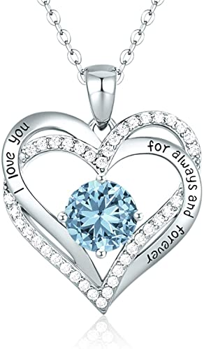 CDE Forever Love Heart Necklace White Gold | Mar