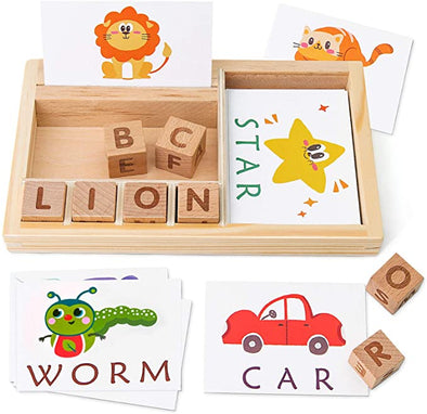 Wooden Matching Letters Toy