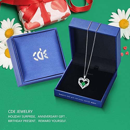 CDE Forever Love Heart Necklace White Gold | May