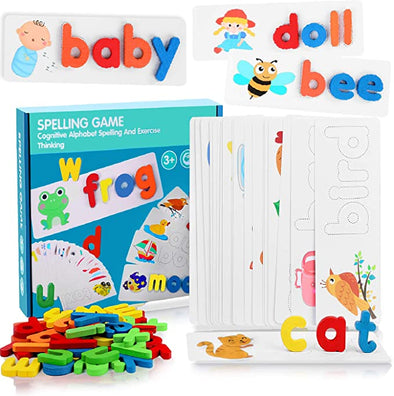 Spell Learning Matching Letter Game Toys