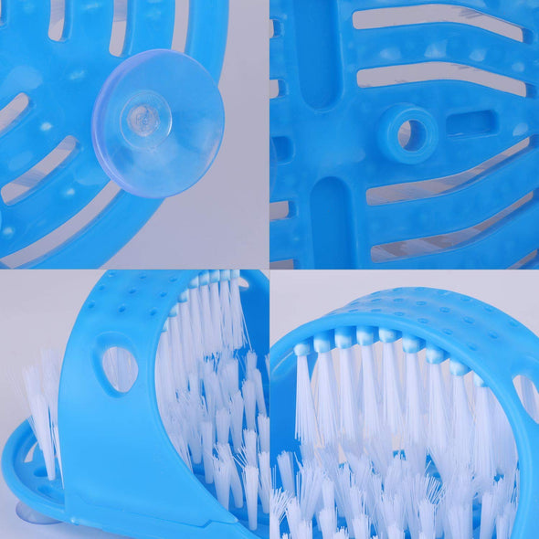 Feet Cleaner Washer Brush for Shower Floor(1 pair)