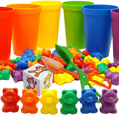 Rainbow Counting Bears