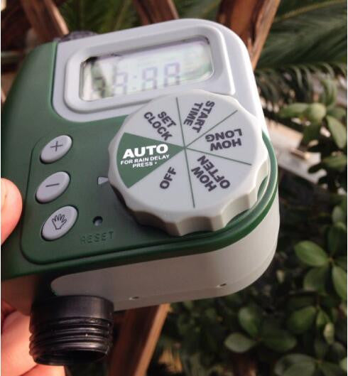 Single Outlet Programmable Hose Faucet Front yard/Backyard/Garden Lawn Irrigation Timer