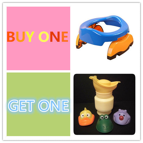 2-in-1 Go Potty For Travel with Refill Bags 10pcs(BUY 1 GET 1 Pee Pee Cup)