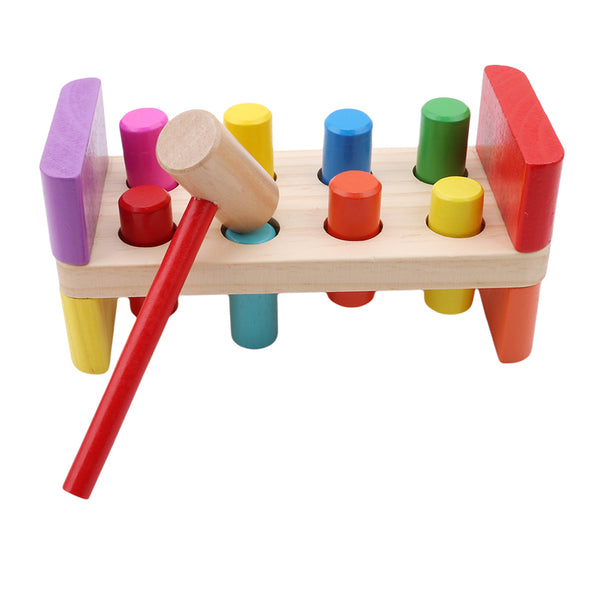 Pounding Bench Wooden Toy