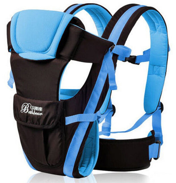 4 in 1 baby carrier -blue