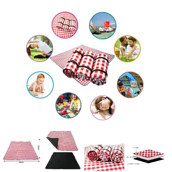 Thicken Pad Breathable Soft Blanket for Outdoor