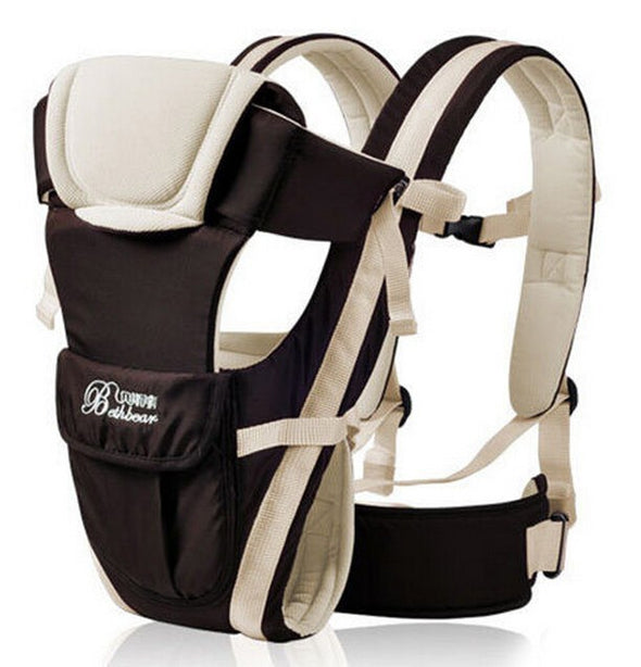 4 in 1 baby carrier - grey