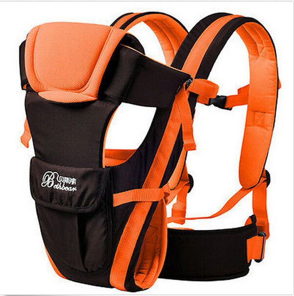 4 in 1 baby carrier orange