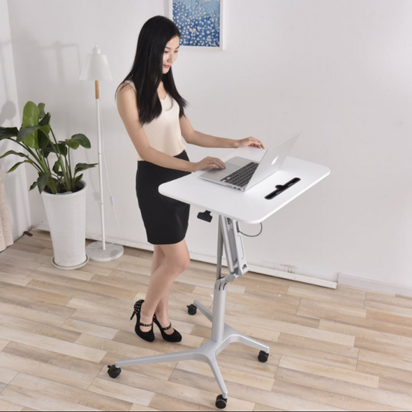 sit to stand desk height adjustable