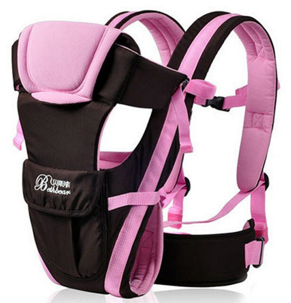 4 in 1 baby carrier -pink
