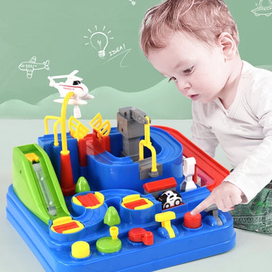 Kids Educational Car Toys for Boys Track Adventure Brain Table Games