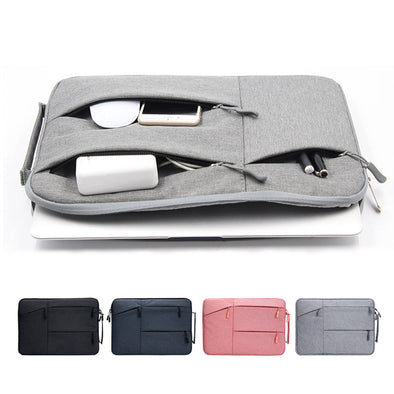 Vertical Style Water Repellent Polyester Laptop Sleeve Bag