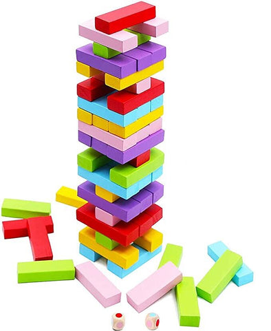 Wooden Stacking Board Games Building Blocks