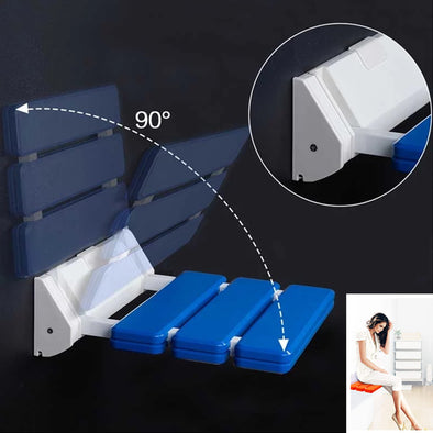 90 Degree Folding Wall Mounted  Shower Seat