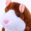 Talking Hamster Repeats What You Say and Shaking Head Automatically