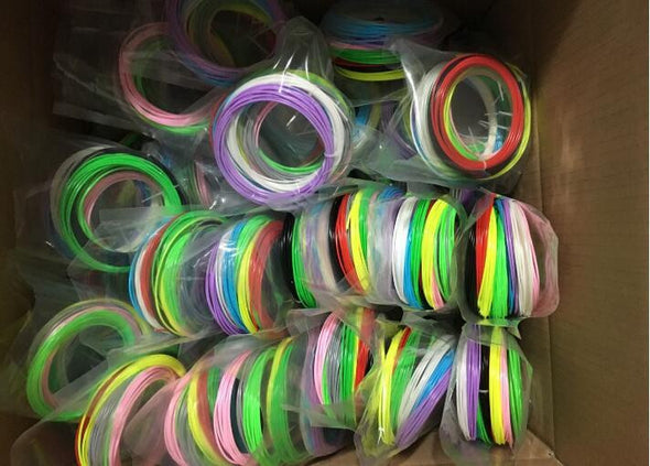 3D Pen Filament Refills - 1.75mm ABS - 20 Different Colors in 10 Meter Lengths