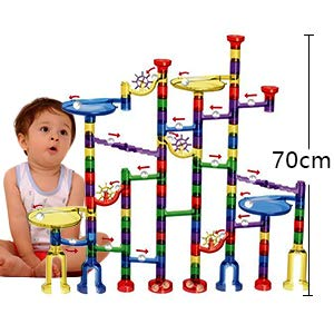 Marble Run Toy 122 Pcs for Kids
