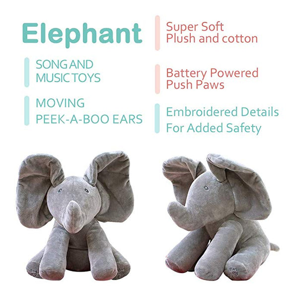 Peek A Boo Bear & Elephant