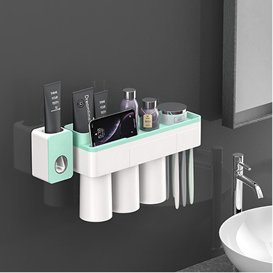 Magnetic Adsorption Toothbrush Holder