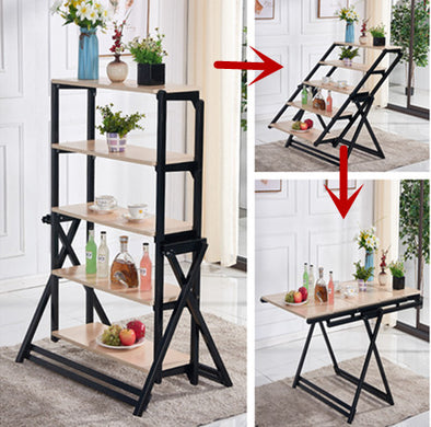 Swing Convertible Table & Shelf