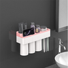 Wall-mounted Magnetic Adsorption Toothbrush Holder