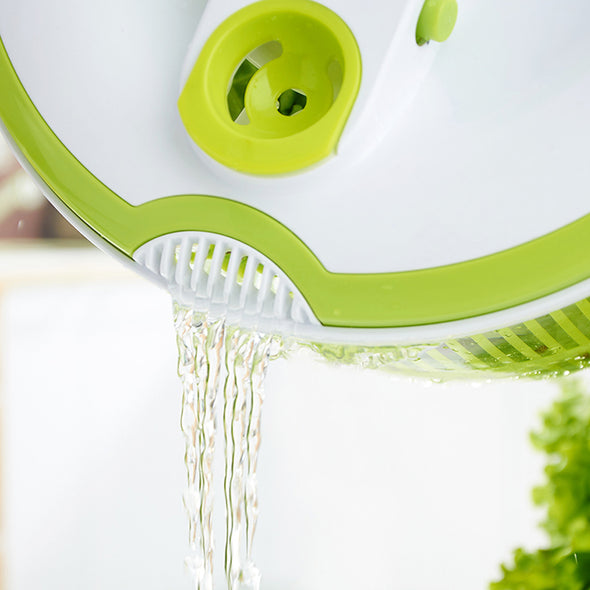 5L Salad Spinner Vegetable Washer with Bowl
