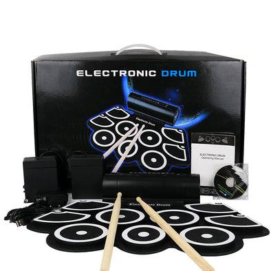 Roll up electronic drum