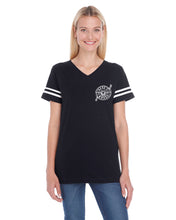 Guns and Hoses Ladies' Football Fine Jersey T-Shirt