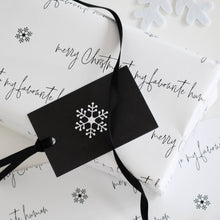 Load image into Gallery viewer, Favourite human Christmas gift wrap set