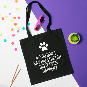 Big stretch tote bag