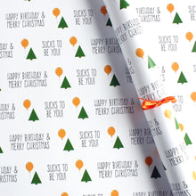 Load image into Gallery viewer, Christmas birthday gift wrap set