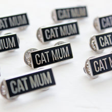 Load image into Gallery viewer, Cat mum enamel pin