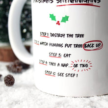 Load image into Gallery viewer, Christmas shenanigans mug