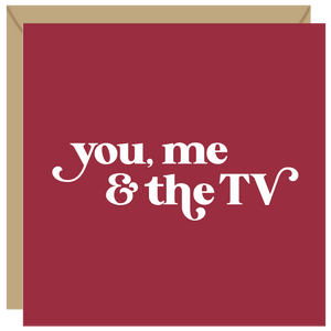 You, me and the TV card