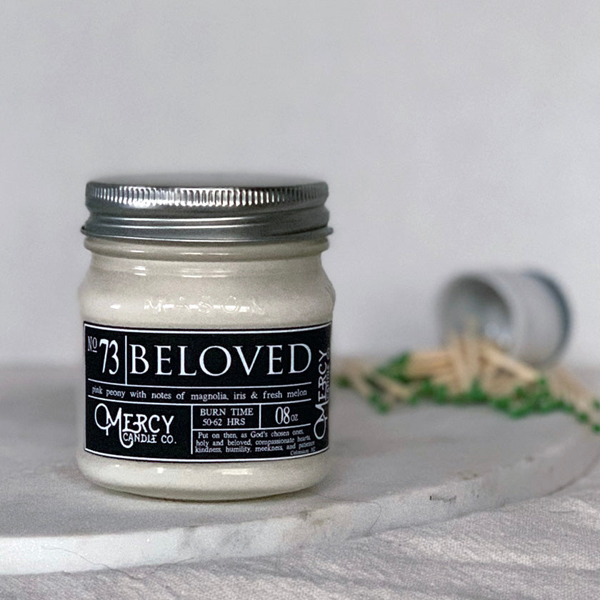 BELOVED - 08oz Mason Jar