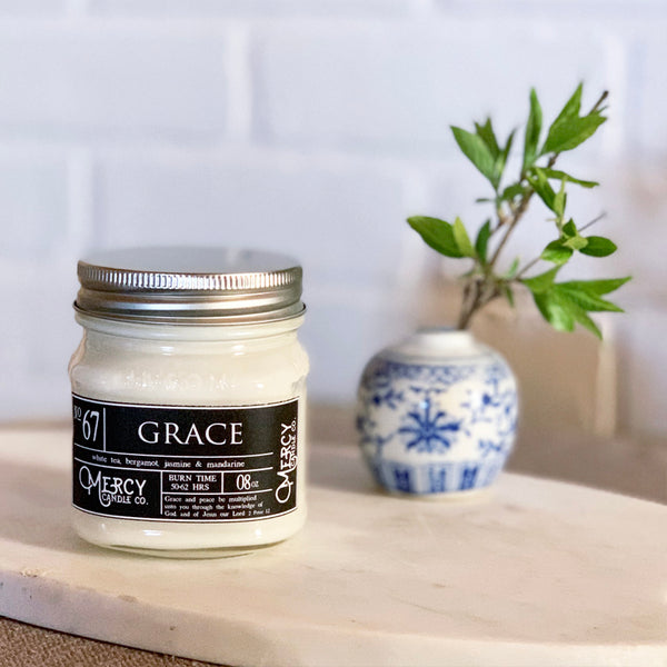 GRACE - 08oz Mason Jar