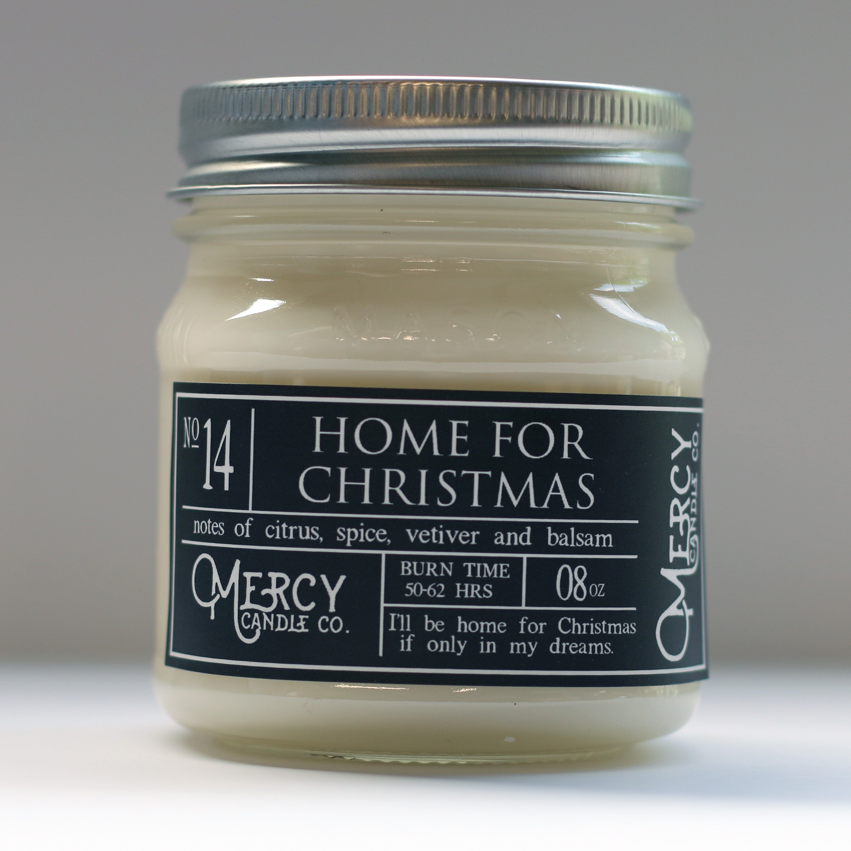 Home for Christmas | 08oz Mason Jar Candle