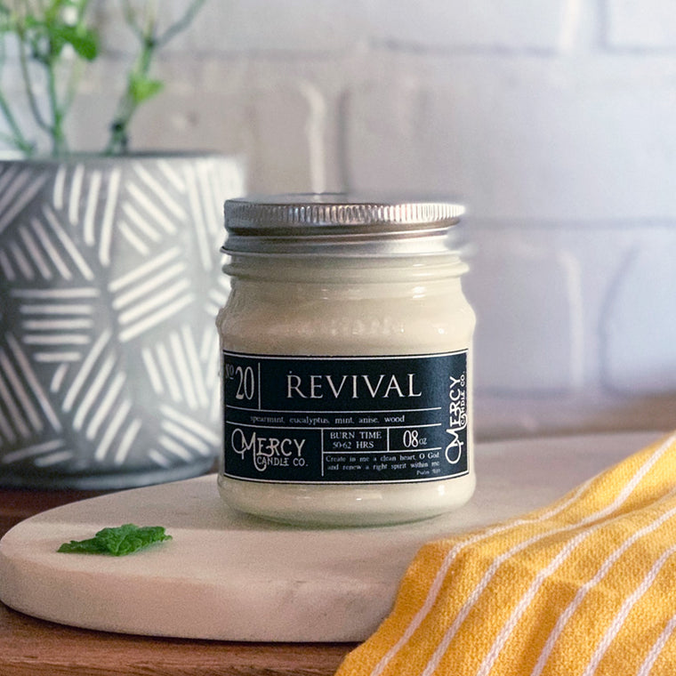 REVIVAL - 08oz Mason Jar