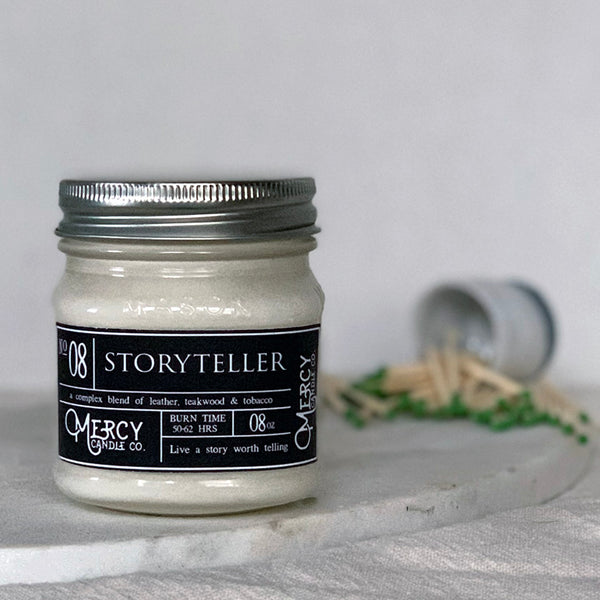 STORYTELLER - 08oz Mason Jar