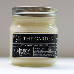 THE GARDEN - 08oz Mason Jar