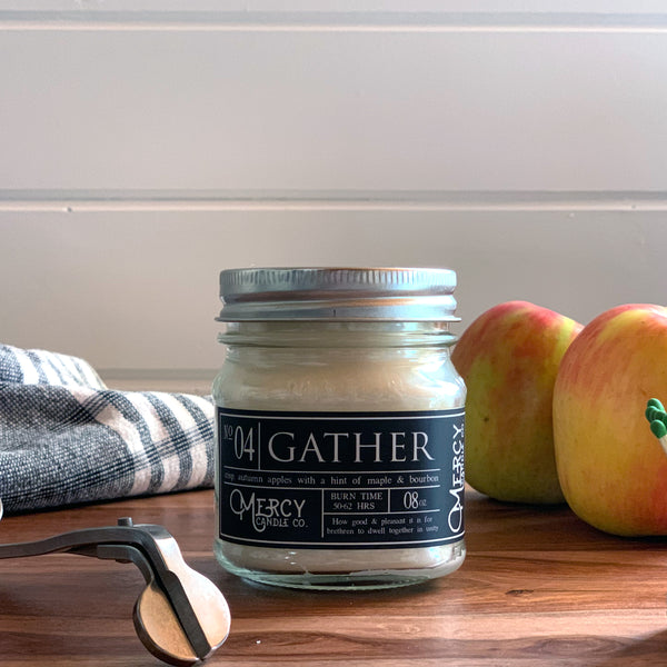 GATHER - 08oz Mason Jar